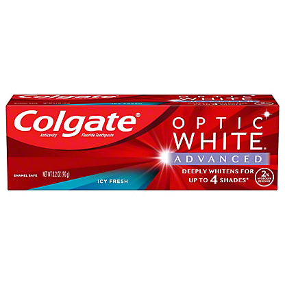 Colgate Optic White Cool Mild Mint Toothpaste,3.5 OZ