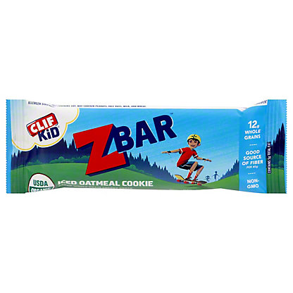 Clif Kid Organic Iced Oatmeal Cookie Z Bar,1.27 oz