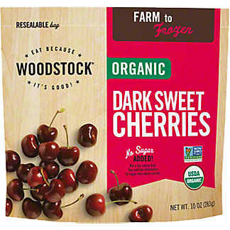 Woodstock Organic Dark Sweet Cherries,10 OZ
