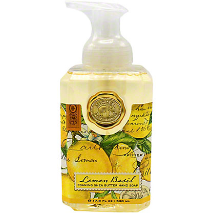 Michel Design Foaming Hand Soap Lemon Basil, 17.8OZ