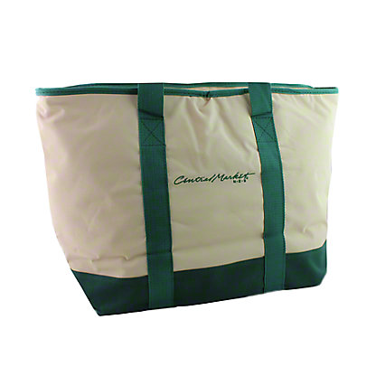 Central Market Green Earth Bags Thermal Bag,EACH