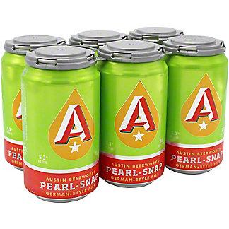 Austin Beerworks Pearl-Snap German Style Pils 6 PK Cans,12 OZ