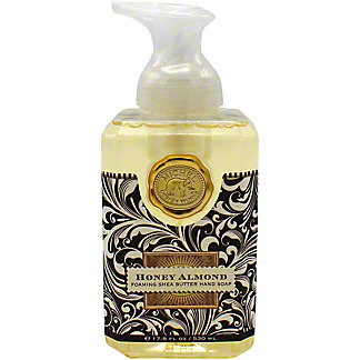 Michel Design Foaming Hand Soap Honey Almond, 17.8OZ