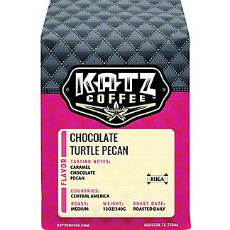 Katz Chocolate Turtle Dove Whole Bean Coffee, 12 oz