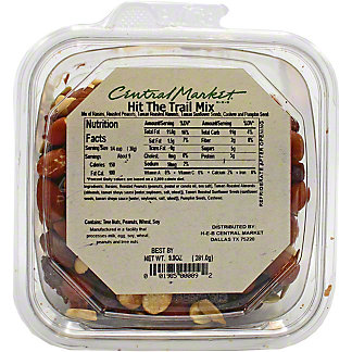 Central Market PrePacked Hit the Trail Mix, 9.9 oz