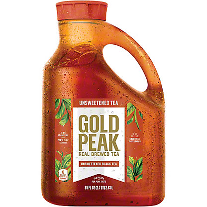 Gold Peak Unsweetened Iced Tea,89.00 oz