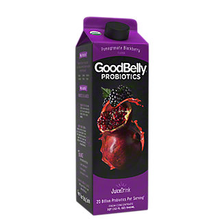 GoodBelly Probiotics Pomegranate Blackberry Flavor Probiotic Juice Drink, 32 oz