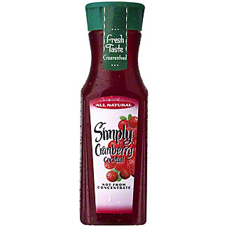 Simply Cranberry Cocktail Single Serve, 11.5 oz