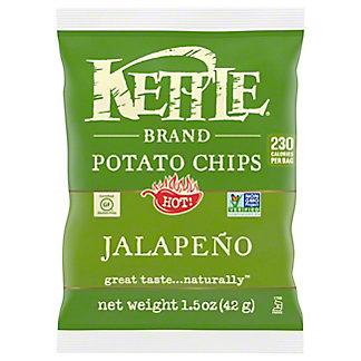 Kettle Hot Jalapeno Potato Chips,1.5 OZ