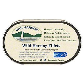 Bar Harbor Wild Herring Fillets with Cracked Pepper, 6.7 oz
