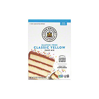 King Arthur Gluten Free Yellow Cake Mix, 22 oz
