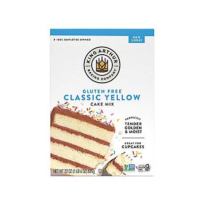 King Arthur Gluten Free Yellow Cake Mix, 22 oz