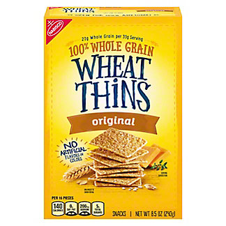 Nabisco Wheat Thins Original Snacks, 9.1 oz