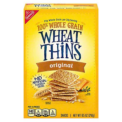 Nabisco Wheat Thins Original Snacks, 9.1 oz