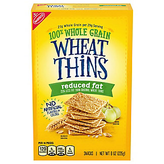 Nabisco Wheat Thins Reduced Fat Snacks, 8.5 oz