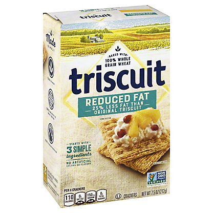 Nabisco Triscuit Reduced Fat Crackers, 8 oz