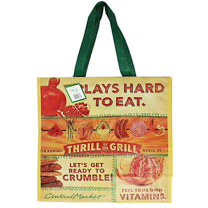 Central Market Conversation Large Eco Bag,EACH
