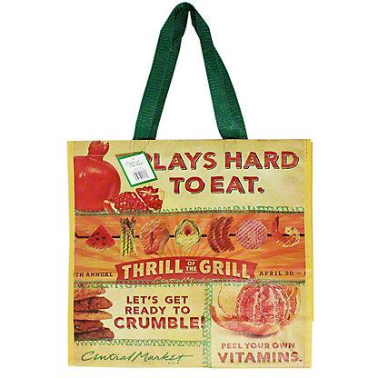 Central Market Conversation Large Eco Bag,EACH