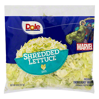 Dole Dole Shredded Lettuce,8 OZ