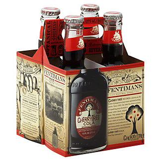 Fentimans Natural Sodas Cherry Tree Cola,4 - 9.3 OZ
