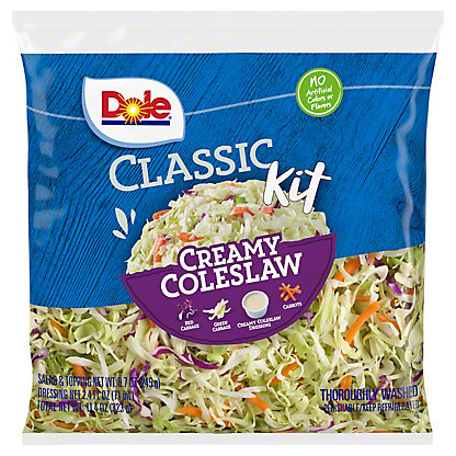 Dole Creamy Coleslaw Salad Kit,EACH