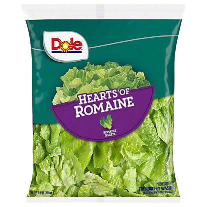 Dole Hearts of Romaine Salad Blend, 10 OZ