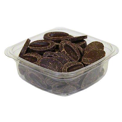 Valrhona 85% Abinao Dark Chocolate Discs, by lb