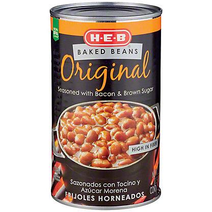 H-E-B Original Baked Beans, 28 oz