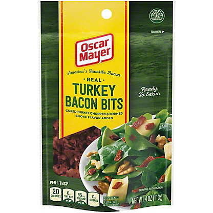 Oscar Mayer Turkey Bacon Bits, 4 oz