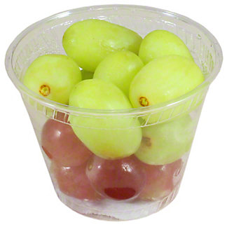 Fresh Red and Green Grapes Solo, 5 oz