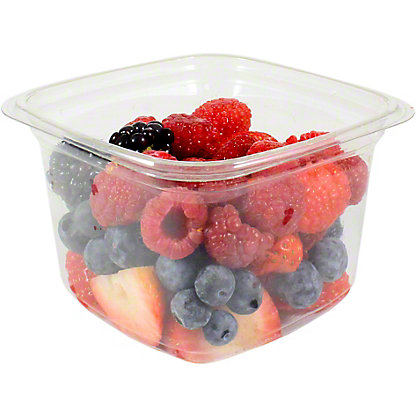 Central Market Small Mixed Berries, 9OZ