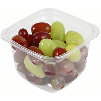 Central Market Small Red & Green Grapes, 11OZ