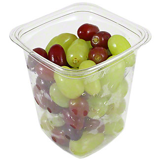 Central Market Large Red & Green Grapes, 19OZ