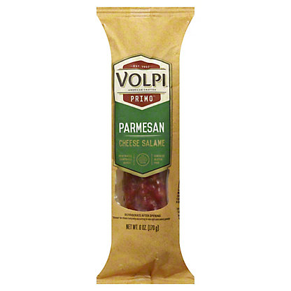 Volpi Parmesan Salami, 6 oz