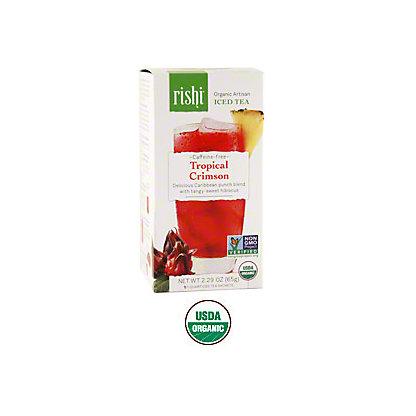Rishi Rishi Tropical Crimson Iced Tea, 1 LB