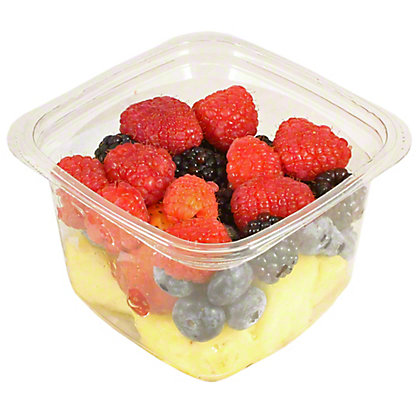 Central Market Small Mixed Pineapple & Berries, 11 oz