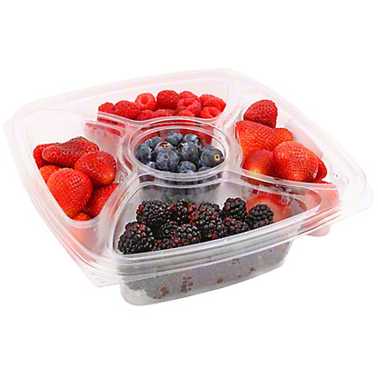 Central Market Assorted Berries, 27OZ