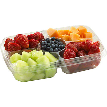 Central Market Berries & Melon Mixed Fruit, 31OZ