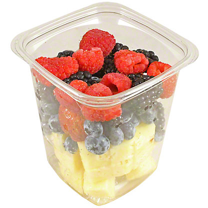 Central Market Large Mixed Pineapples & Berries, 17 oz