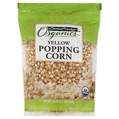 Central Market Organic Yellow Popping Corn,24 OZ