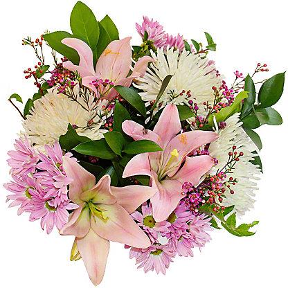 Central Market Pink & White Signature Bouquet, ea