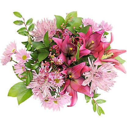 Central Market Purple & Pink Signature Bouquet, ea