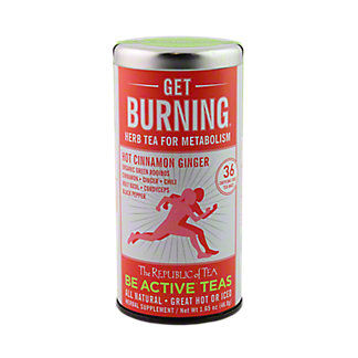 The Republic of Tea Herbal Get Burning Metabolism Tea, 36 ct