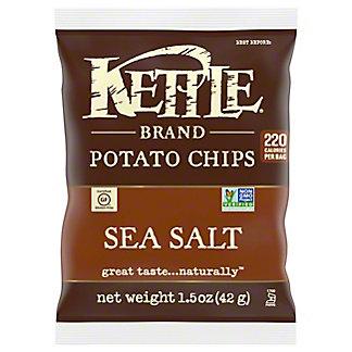 Kettle Sea Salt Potato Chips,1.5 OZ