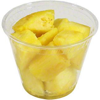 Fresh Pineapple Chunks Solo, 4 oz
