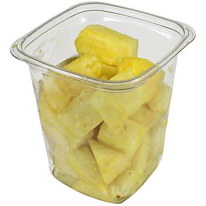 Central Market Large Pineapple Chunks, 17OZ