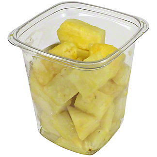 Central Market Large Pineapple Chunks, 17OZ
