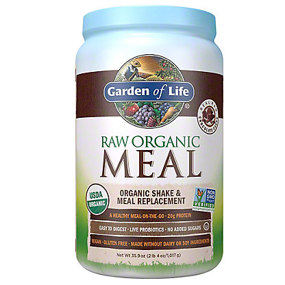 Garden of Life Raw Meal Chocolate Beyond Organic Meal Replacement Formula,2.7 LBS