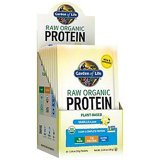 Garden of Life Raw Protein Vanilla, 15 CT
