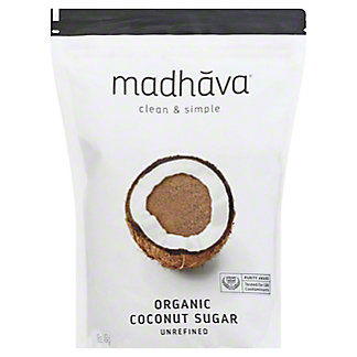 Madhava Organic Blonde Coconut Sugar, 16 oz